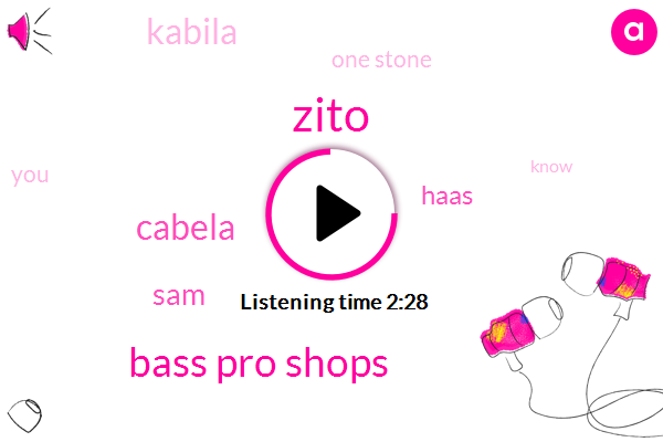 Zito,Bass Pro Shops,Cabela,SAM,Haas,Kabila,One Stone