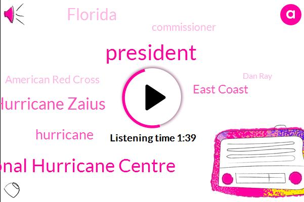 President Trump,National Hurricane Centre,Hurricane Zaius,Hurricane,East Coast,Florida,Commissioner,American Red Cross,Dan Ray,Red Cross,Ed Davis,Bloomberg,Bob Boston,Bahamas,Caribbean,Nassau,Tampa