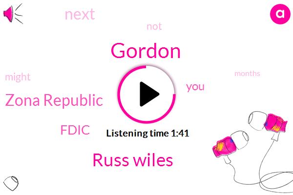 Gordon,Russ Wiles,Zona Republic,Fdic