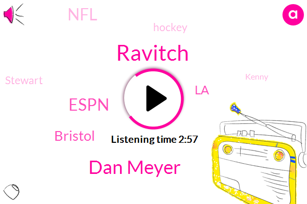 Ravitch,Dan Meyer,Espn,Bristol,LA,NFL,Hockey,Stewart,Kenny,Ninety Minute,Thirty Minute,Three Months