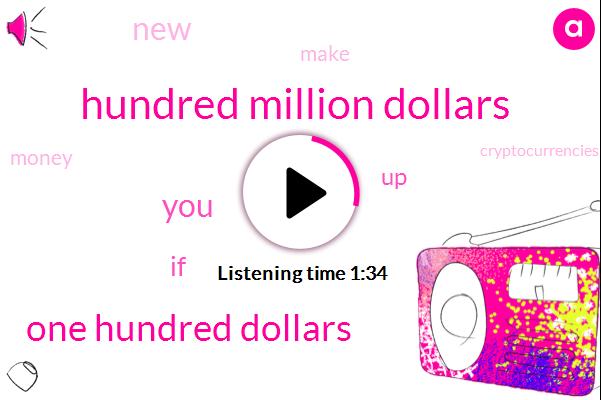 Bitcoin,Hundred Million Dollars,One Hundred Dollars