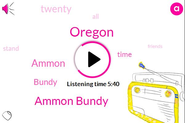 Oregon,Ammon Bundy