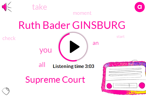 Ruth Bader Ginsburg,Supreme Court