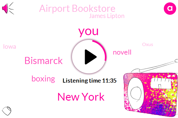 New York,Boxing,Bismarck,Novell,Airport Bookstore,James Lipton,Iowa,Oxus,Shits Creek,Josh Gal,San Francisco,TOM,Hudson News,Merrill,Washington,Five Years,Seventy Percent,Two Weeks