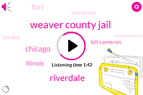 Weaver County Jail,Riverdale,Chicago,Illinois,Bill Cameron,Tori,Income Tax,The Deal,Thirty Two Percent,Two Years