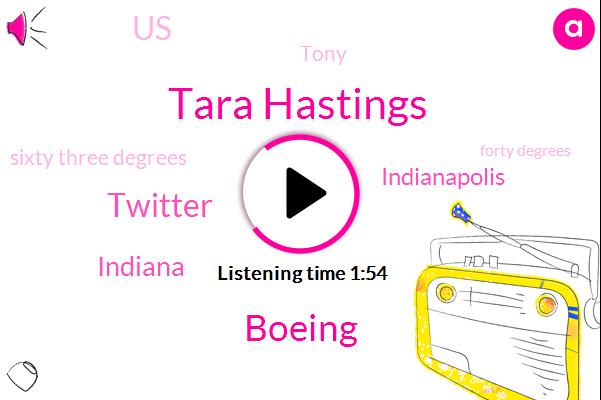 Tara Hastings,Boeing,Wibc,Twitter,Indiana,Indianapolis,United States,Tony,Sixty Three Degrees,Forty Degrees