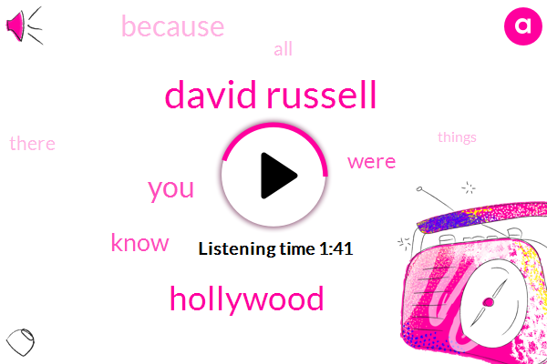 David Russell,Hollywood