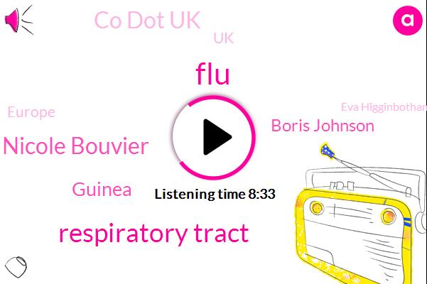FLU,Respiratory Tract,Nicole Bouvier,Guinea,Boris Johnson,Co Dot Uk,UK,Europe,Eva Higginbotham,Fraud,Mount Sinai New York,France,China,Partner