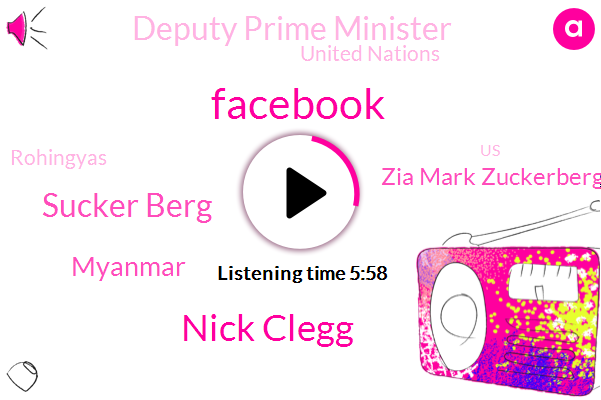 Facebook,Nick Clegg,Sucker Berg,Myanmar,Zia Mark Zuckerberg,Deputy Prime Minister,United Nations,Rohingyas,United States,Abed,Murder,Julia,Mickley,Officer,Harassment,Jerry