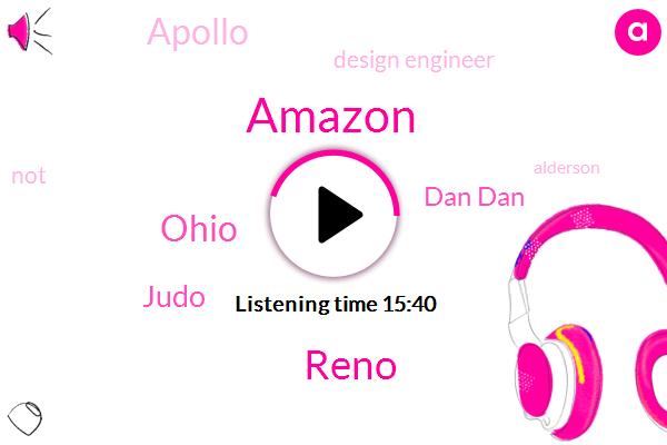Amazon,Reno,Ohio,Judo,Dan Dan,Apollo,Design Engineer,Alderson,John,Fort Built,Greenfield,Johnny Williams,George,Kindle,Two Decades
