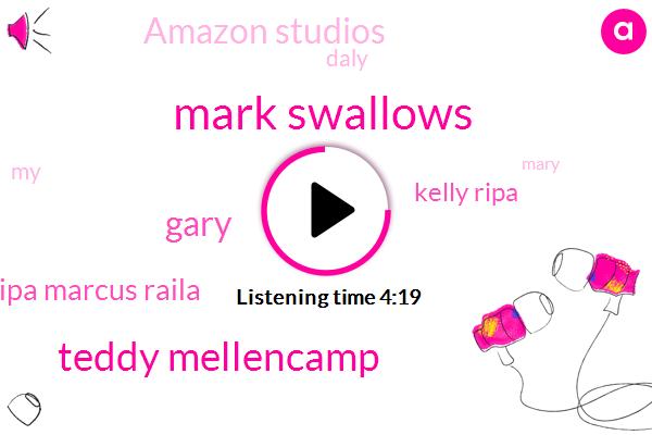 Mark Swallows,Teddy Mellencamp,Gary,Ripa Marcus Raila,Kelly Ripa,Amazon Studios,Daly,Mary,Valley City,Mike,Arsenio Hall,Eddie Murphy,Hollywood,America,Kelly,Billy Idol,Miley Cyrus,Amazon,Twitter,Morgan