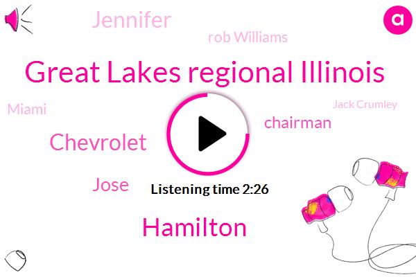 Great Lakes Regional Illinois,Hamilton,Chevrolet,Jose,Chairman,Jennifer,Rob Williams,Miami,Jack Crumley,Kansas City,Mark Newsradio,Baseball,WLW,Rick,Gregg Carmichael,CEO,Cincinnati,Mount Airy,Ross