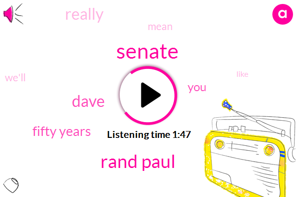 Senate,Rand Paul,Dave,Fifty Years