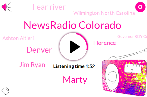Newsradio Colorado,Marty,Denver,Jim Ryan,Florence,Fear River,Wilmington North Carolina,Ashton Altieri,Governor Roy Cooper,Raleigh Durham,CBS,Carolinas
