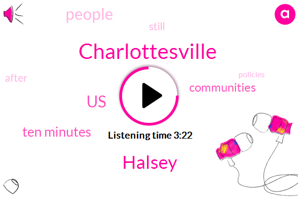 Charlottesville,Halsey,United States,Ten Minutes