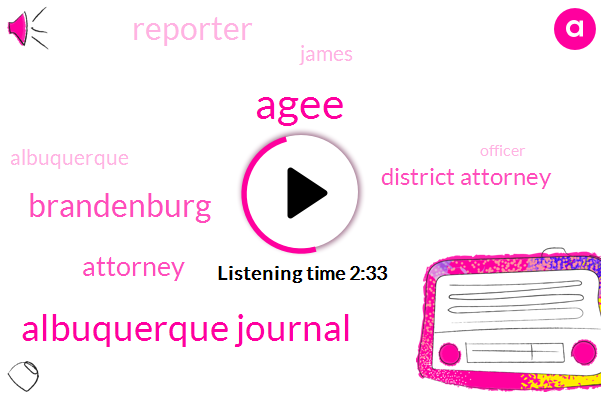 Agee,Albuquerque Journal,Brandenburg,Attorney,District Attorney,Reporter,James,Officer,Carey,Albuquerque Police Department,Thanksgiving,Albuquerque