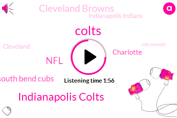 Colts,Indianapolis Colts,South Bend Cubs,NFL,Charlotte,Cleveland Browns,Indianapolis Indians,Cleveland,Rob Connett,Ben Bana,Charlotte Knights,Peres Campbell,Nashville,Baseball,TCU,Ohio,Indiana Sports,Fort Wayne Tim,Cardinals,North Carolina