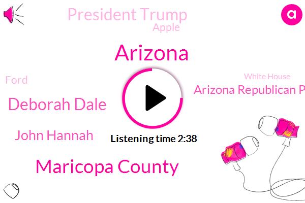 Maricopa County,Arizona,Deborah Dale,John Hannah,Arizona Republican Party,President Trump,Apple,Ford,White House,El Mirage,Trey Barge,GOP,Katie Hobbs,Elizabeth Schultz,Mark Burnett,Biden,Michigan