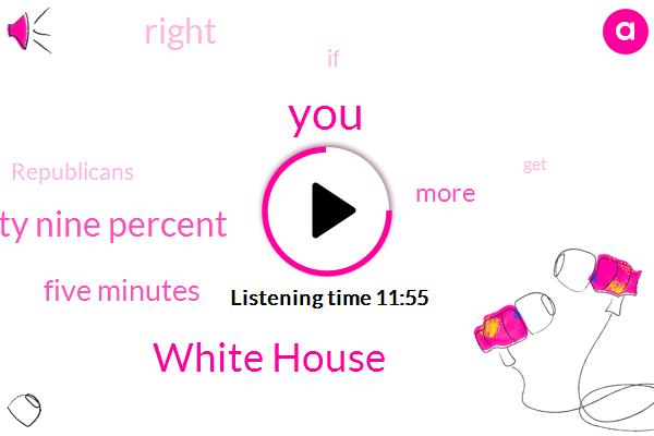 White House,Ninety Nine Percent,Five Minutes