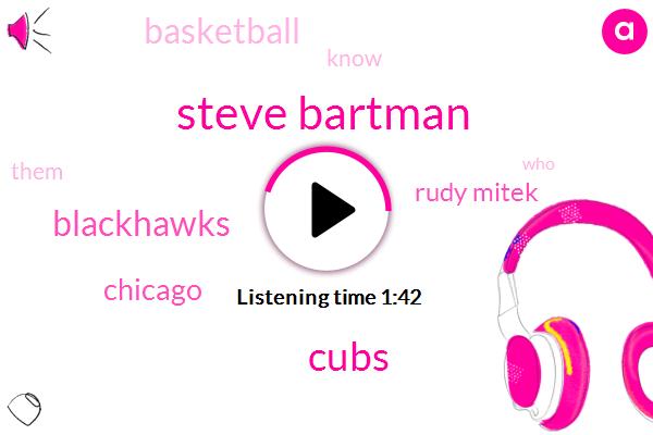 Steve Bartman,Cubs,Blackhawks,Chicago,Rudy Mitek,Basketball