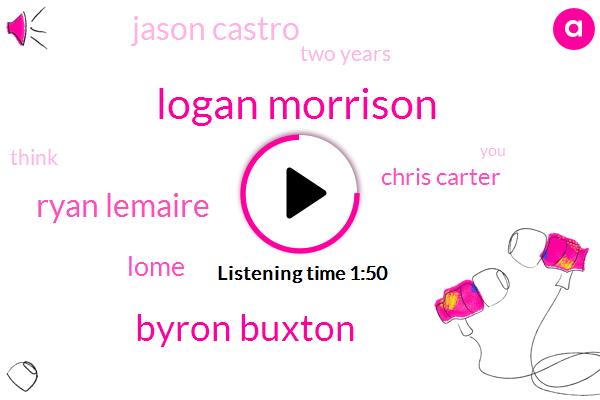 Logan Morrison,Byron Buxton,Ryan Lemaire,Lome,Chris Carter,Jason Castro,Baseball,Two Years