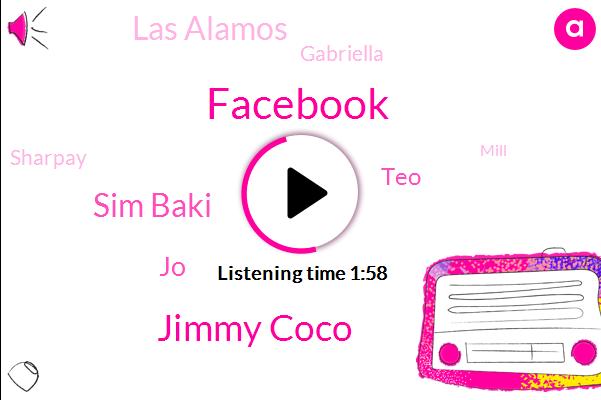 Facebook,Jimmy Coco,Sim Baki,JO,TEO,Las Alamos,Gabriella,Sharpay,Mill,Jared