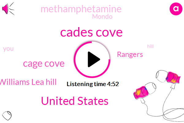 Cades Cove,United States,Cage Cove,Williams Lea Hill,Rangers,Methamphetamine,Mondo,Hill,Denver,Montana,Ten Years,Five Days,Ten Year