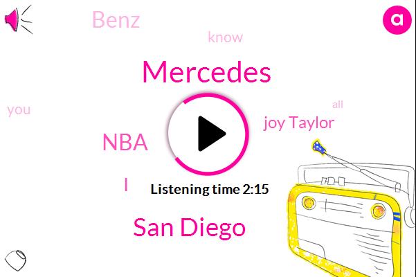 Mercedes,San Diego,NBA,Joy Taylor,Benz