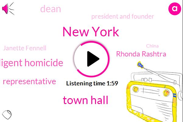 New York,Town Hall,Negligent Homicide,Representative,Rhonda Rashtra,Dean,President And Founder,Janette Fennell,China,Elise,Egon Bernal,Charles,Richmond,Iran,Vienna,Russia