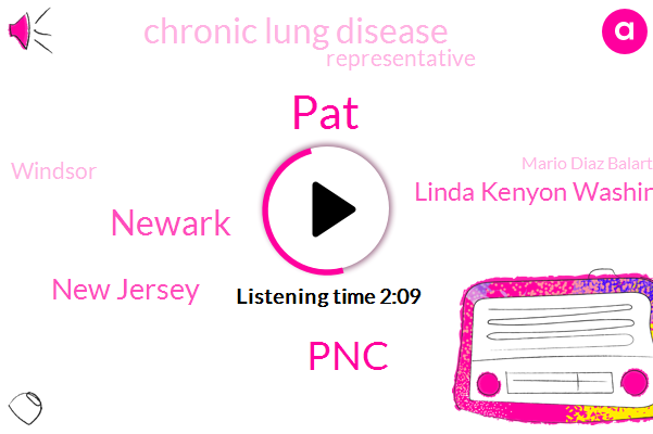 PAT,PNC,Newark,New Jersey,Linda Kenyon Washington,Chronic Lung Disease,Representative,Windsor,Mario Diaz Balart,CDC,Phil Murphy,Washington,Ben Mcadams,Congressman,Senate