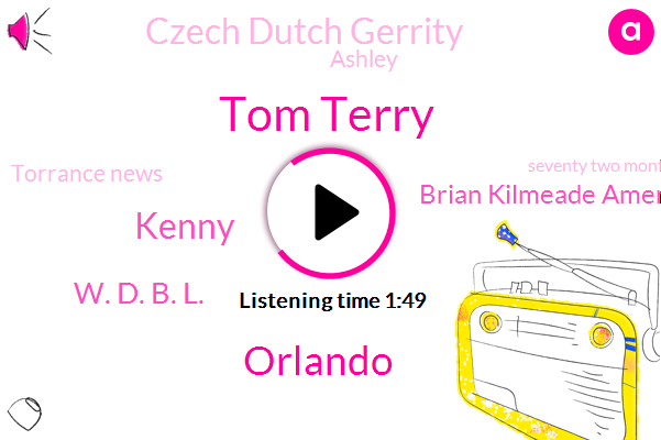 Tom Terry,Orlando,Kenny,W. D. B. L.,Brian Kilmeade America,Czech Dutch Gerrity,Ashley,Torrance News,Seventy Two Months,Fifty Percent,Six Minutes,Five W