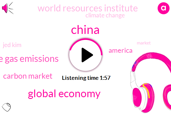 Global Economy,China,Greenhouse Gas Emissions,Carbon Market,America,World Resources Institute,Climate Change,Jed Kim