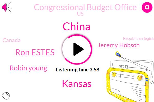 China,Kansas,Ron Estes,Robin Young,Jeremy Hobson,Congressional Budget Office,United States,Canada,Republican Legislature,Congressman,Sam Brownback,Executive,Treasurer,President Trump