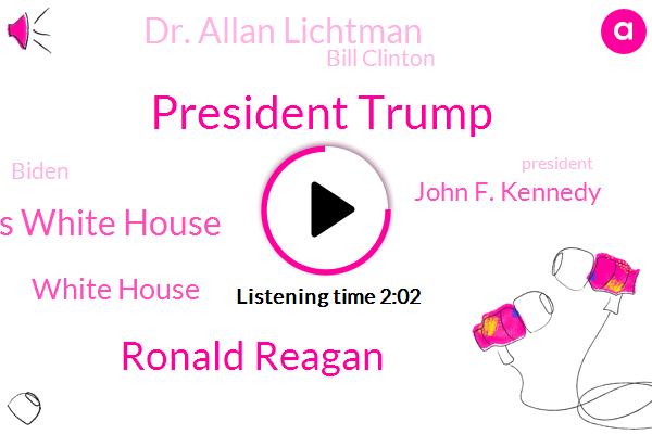 President Trump,Ronald Reagan,Elena Train Axios White House,White House,John F. Kennedy,Dr. Allan Lichtman,Bill Clinton,Biden,Congress,George H. W. Bush,Reporter,American University,Professor