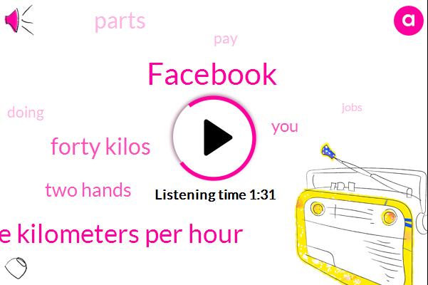 Facebook,Twenty Five Kilometers Per Hour,Forty Kilos,Two Hands