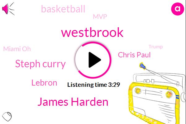 Westbrook,James Harden,Steph Curry,Lebron,Chris Paul,Basketball,MVP,Miami Oh,Donald Trump,Houston,Russell,LA