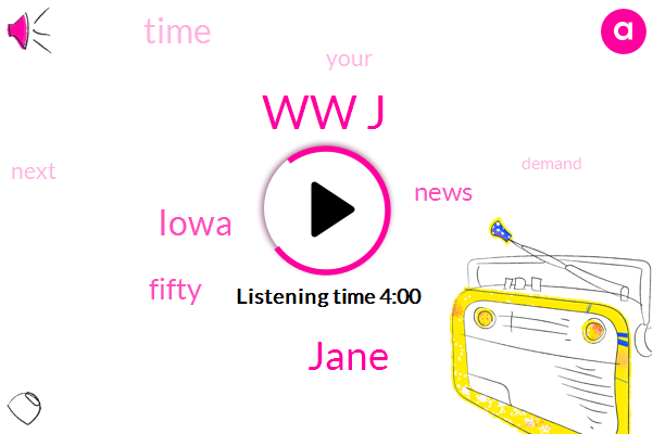 Ww J,Jane,Iowa