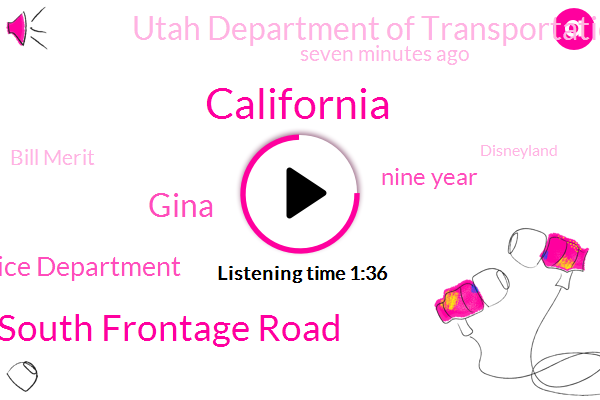 California,3200 West South Frontage Road,Gina,West Valley Police Department,Nine Year,Utah Department Of Transportation,TWO,Seven Minutes Ago,Bill Merit,Disneyland,Both,Both Occupants,Nine Year Old,West Valley,Four Year Old,Minutes After Six This Morning,Lieutenant,10,ONE