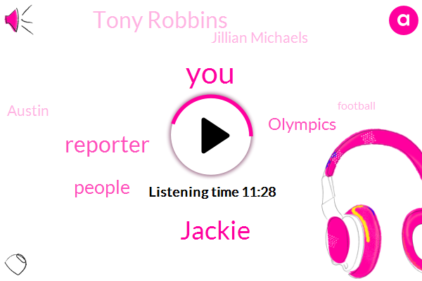 Reporter,Jackie,Olympics,Tony Robbins,Jillian Michaels,Austin,Football,Alex,Jack,United States,Murder,Ogle,Kazaa,TOM,Washington Bureau,ABC,Director,Hunter,BC