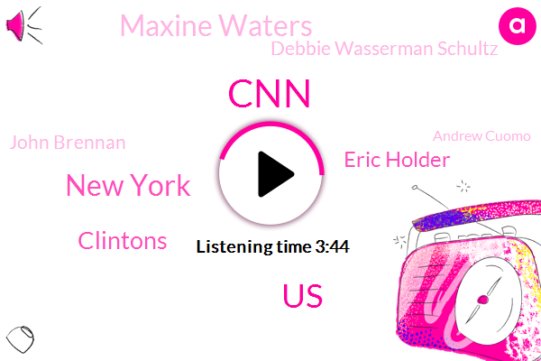 CNN,United States,New York,Clintons,Eric Holder,Maxine Waters,Debbie Wasserman Schultz,John Brennan,Andrew Cuomo,George Soros,Nypd,Ted Cruz,Attorney,Reis,Representative,President Trump,FOX