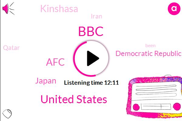 BBC,United States,AFC,Japan,Democratic Republic Of Congo,Kinshasa,Iran,Qatar,Benny,Football,DRC,Addis Ababa,Facebook,Lebron James,Ebola,Russia,Official,Middle East,Donald Trump,North Korea