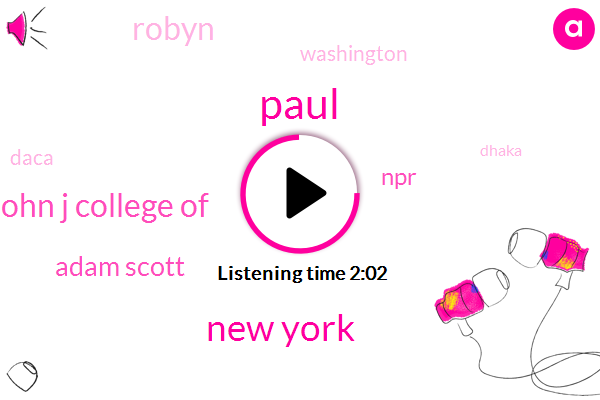 Paul,New York,John J College Of,Adam Scott,NPR,Robyn,Washington,Daca,Dhaka,Stephen Miller,Capitol Hill,Child Pornography,Assistant Professor,Editor,Lincoln,White House,Sarah Sanders