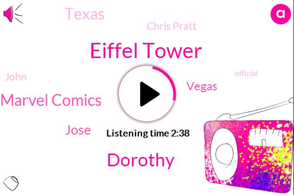 Eiffel Tower,Dorothy,Marvel Comics,Jose,Vegas,Texas,Chris Pratt,John,Official,Ohio,Twenty Six Year,Hundred Dollars