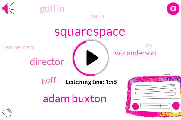 Squarespace,Adam Buxton,Director,Goff,Wiz Anderson,Goffin,Paris,Ten Percent