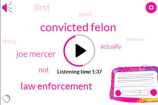 Convicted Felon,Law Enforcement,Joe Mercer