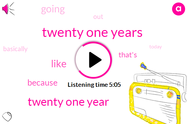 Twenty One Years,Twenty One Year