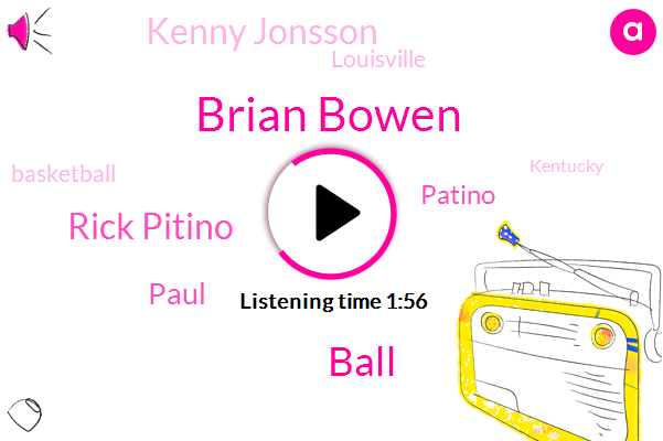 Brian Bowen,Ball,Rick Pitino,Patino,Kenny Jonsson,Paul,Louisville,Basketball,Kentucky,San Francisco,Pacino,W. D.