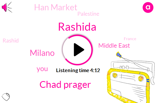 Rashida,Chad Prager,Milano,Middle East,Han Market,Palestine,Rashid,France