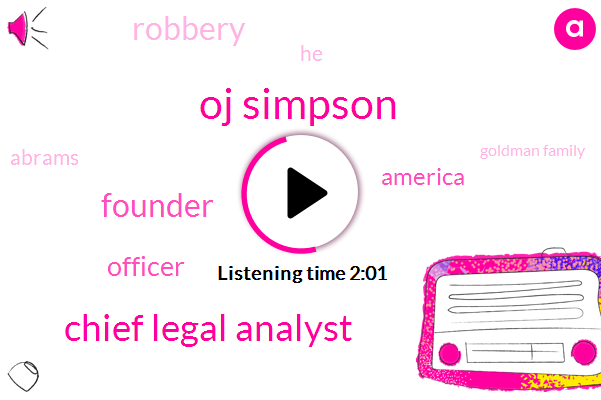 Oj Simpson,Chief Legal Analyst,Founder,Officer,America,Robbery,ABC,Abrams,Goldman Family,Golf,Nine Years