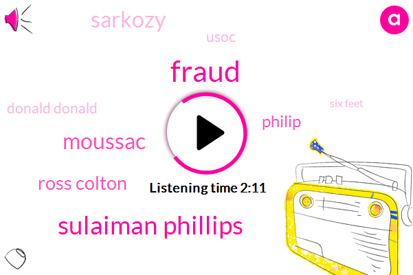 Fraud,Sulaiman Phillips,Moussac,Ross Colton,Philip,Sarkozy,Usoc,Donald Donald,Six Feet